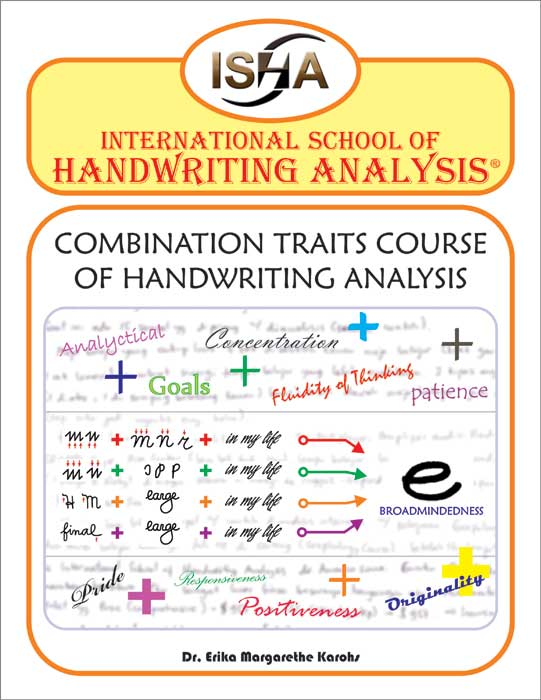 Combination Traits Course of Handwriting Analysis