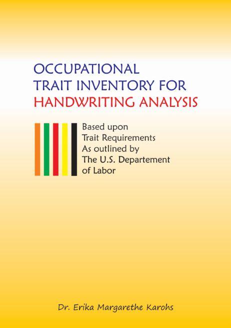 Comprehensive Course of Handwriting Analysis (ilustration bonus book occupational)