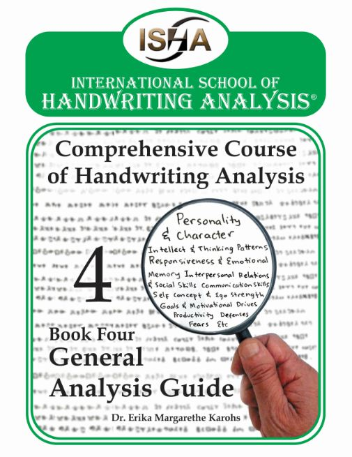 Comprehensive Course of Handwriting Analysis book 4