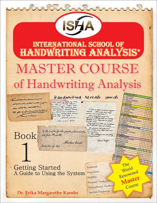 Master Course of Handwriting Analysis from ISHA
