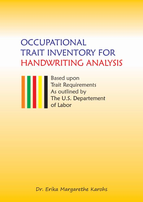 Comprehensive Course of Handwriting Analysis (ilustration bonus book occupational)